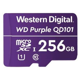Карта памяти Western Digital MEMORY MICRO SDXC QD101 256GB UHS-I WDD256G1P0C WDC