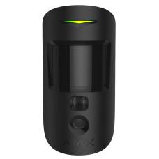 Датчик движения Ajax MotionCam с фотокамерой для подтверждения тревог (black)