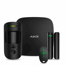 Комплект сигнализации Ajax StarterKit Cam (black)
