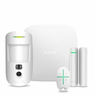Комплект сигнализации Ajax StarterKit Cam (white)