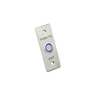 PBK-814A(LED) - Кнопка выхода со световой индикацией (Нержавеющая сталь)