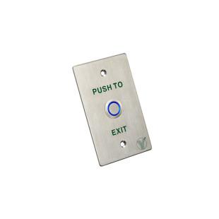 PBK-814D(LED) - Кнопка выхода со световой индикацией (Нержавеющая сталь)