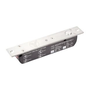 Электроригельный замок YB-700A(LED) cо световой индикацией, датчиком состояния двери и таймером задержки