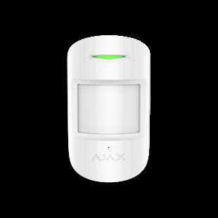 Комбинированный датчик движения и разбития Ajax CombiProtect (white)
