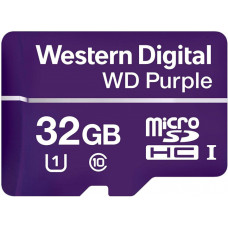 Western Digital Purple MicroSDHC 32GB Class 10 UHS
