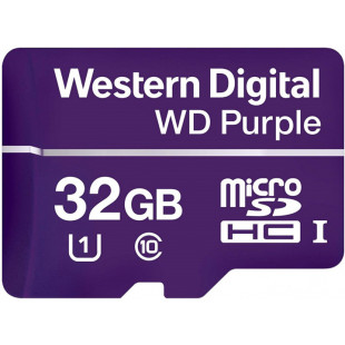 Western Digital Purple MicroSDHC 32GB Class 10 UHS / WDD032G1P0A