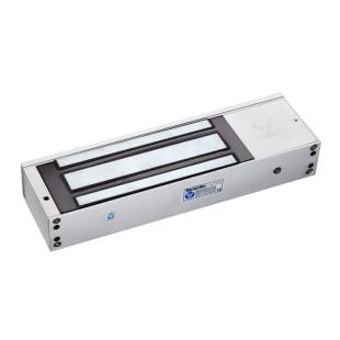 YM-750T(LED) - Электромагнитный замок со световой индикацией, таймером задержки и датчиком состояния двери