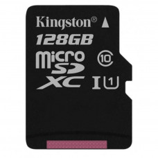 Карта памяти Kingston 128GB microSD class 10 UHS-I Canvas Select (SDCS/128GB)